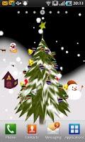 Screenshot of 3D Christmas Live Wallpaper