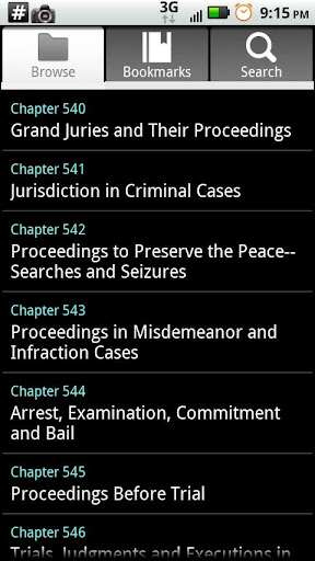 Missouri Criminal Procedure