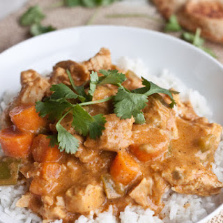 Slow Cooker Coconut Curry Chicken