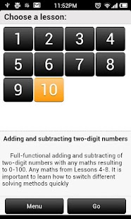 Addition and Subtraction 2 - screenshot