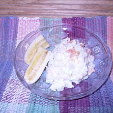 Pineapple Mandarin Orange Cream Orzo Salad