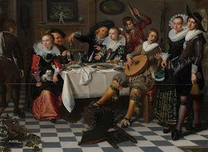 RIJKS: Isaac Elias: Merry Company 1629
