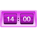 Retro Violet Clock Pro icon