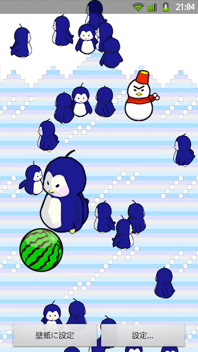 ペンギンライブ壁紙