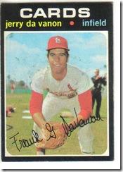 '71 Jerry Da Vanon