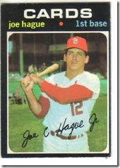 '71 Joe Hague