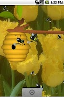 Screenshot of Busy Bees Live Wallpaper