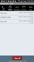 Screenshot of Call Recorder - IntCall