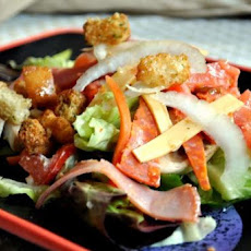 Italian Chef Salad Bread Bowl