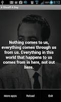 Screenshot of A John Earl Shoaff Quote A Day
