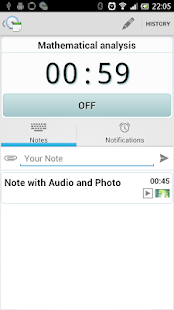 Time Manager - screenshot