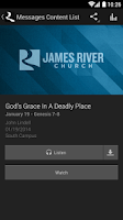 Screenshot of James River Church
