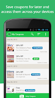 Screenshot of SnipSnap Coupon App
