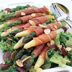 Asparagus Wrapped in Serrano Ham