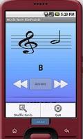 Screenshot of Music Note Flashcards