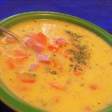 Carrot-Cheese Soup