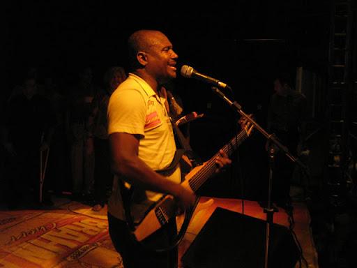 Foto do Irmão Lázaro em show