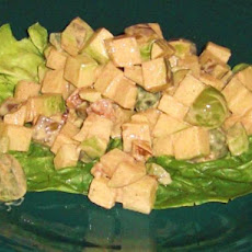 Waldorf Salad - No Mayonnaise