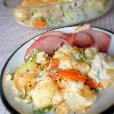 Clear the Fridge Vegetable Gratin