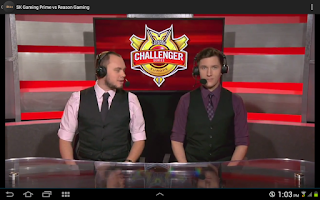 Screenshot of LCS Mashup