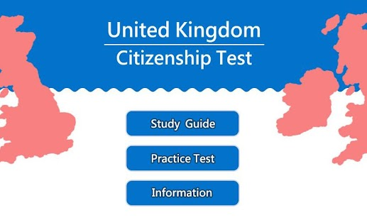 UK Citizenship Practice Test - screenshot