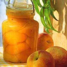 Preserved Pickled Peaches