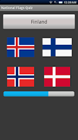 Screenshot of National Flags Quiz