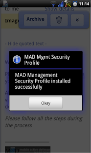 M@D Management - screenshot