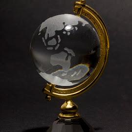 Glass Globe by Fabio Latorre - Artistic Objects Glass ( indonesia, australia, glass, travel, globe )