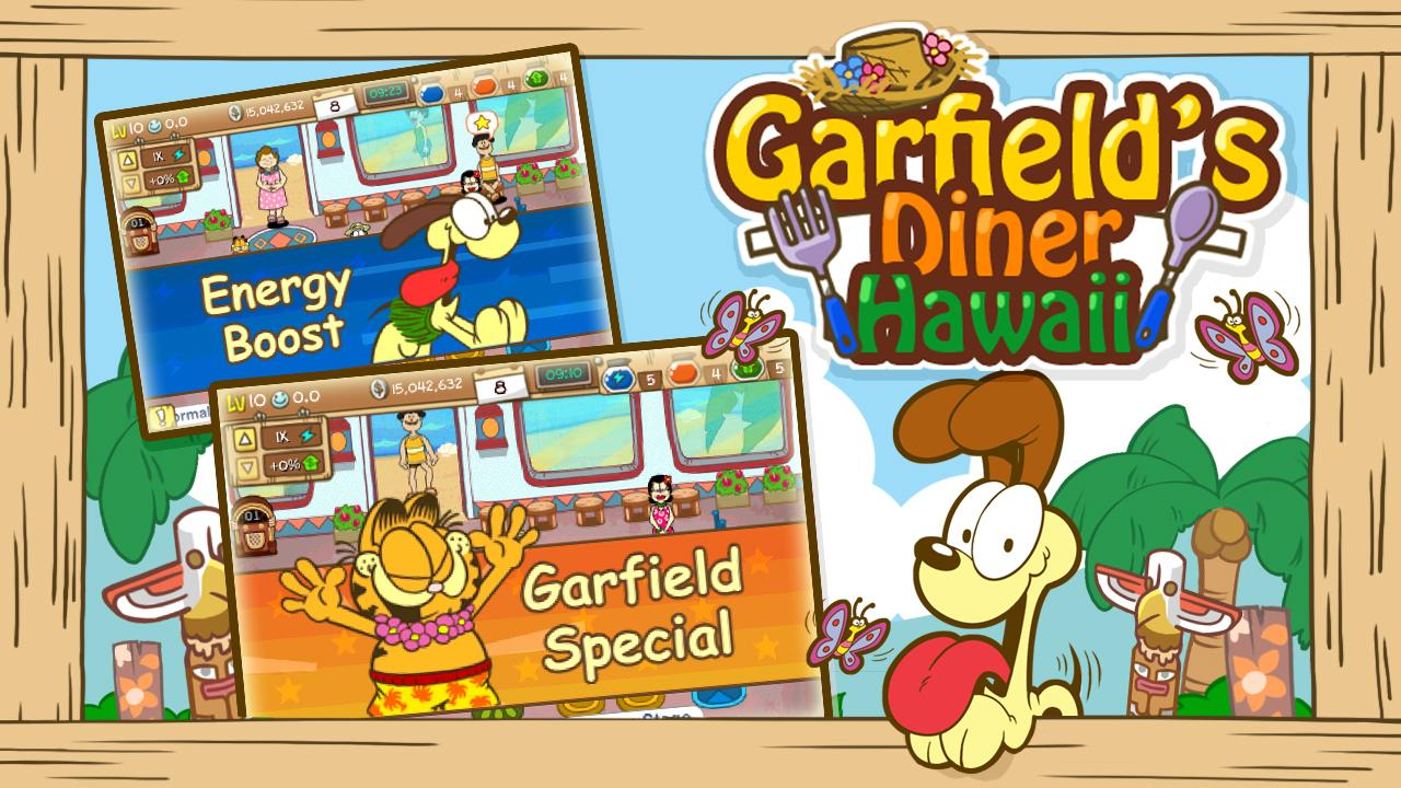 Garfield's Diner Hawaii Screenshot 2