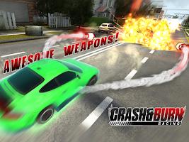 Screenshot of Crash and Burn Racing