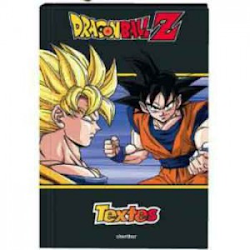 cahier de texte dragon ball