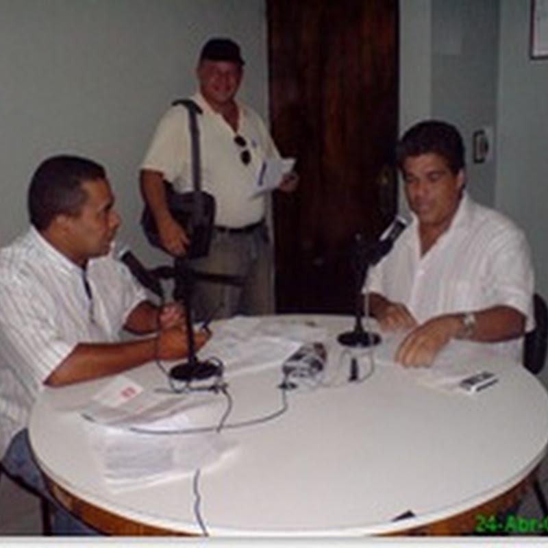 Vereador Joãozinho em entrevista ao Locutor Sergio e Silva no seu programa Jornal do Meio Dia