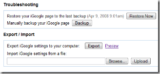 igoogle-backup