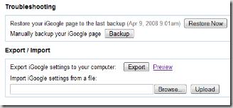 igoogle-backup