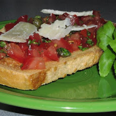 Tomato and Basil Bruschetta (Julie and Julia Style)