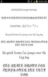 Image Result For Gothic Fonts Apk