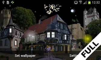 Screenshot of Castle Cat FREE Live Wallpaper