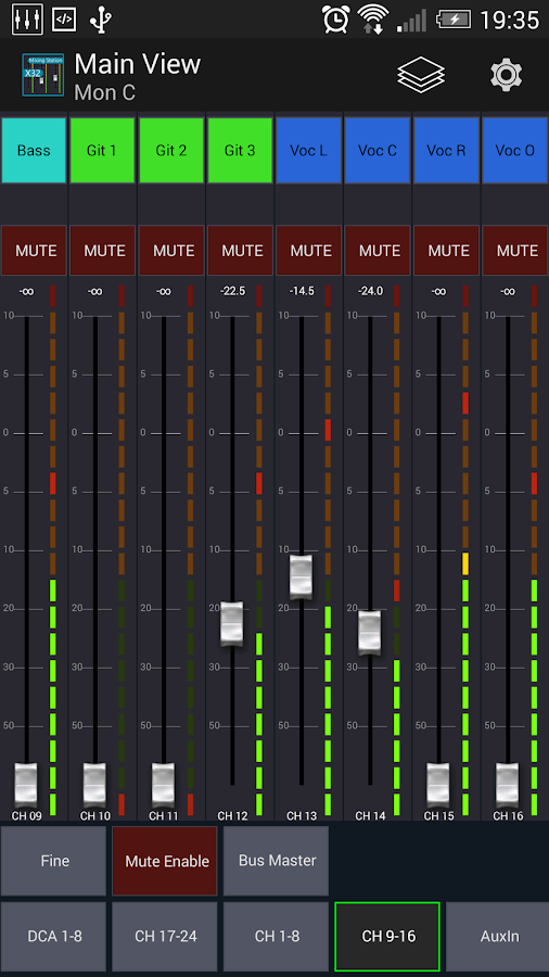 Mixing Station XM32 Pro Screenshot 1