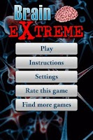 Screenshot of Math Brain Extreme