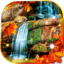 Autumn Waterfall livewallpaper
