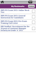 Screenshot of Bank Exams - Josh