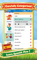 Screenshot of Learn Spanish - Phrase & Words
