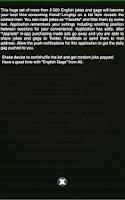 Screenshot of English Jokes and Gags