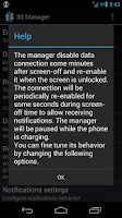 Screenshot of 3G Manager - Battery saver