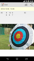 Screenshot of Archery Score Keeper Pro