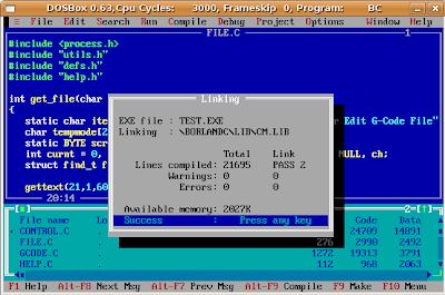 Borland C++ 3.1