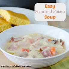 Easy Potato and Ham Soup
