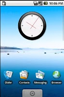Screenshot of Analogic Clock Widget Pack 2x2