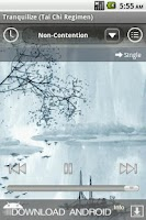 Screenshot of Calming Music to Tranquilize